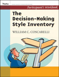 Decision Making Style Inventory by William C Coscarelli image