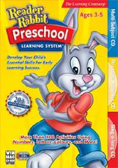 Reader Rabbit Preschool Learning System for PC