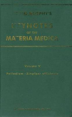 Keynotes of the Materia Medica: v. 5 by Robin Murphy image