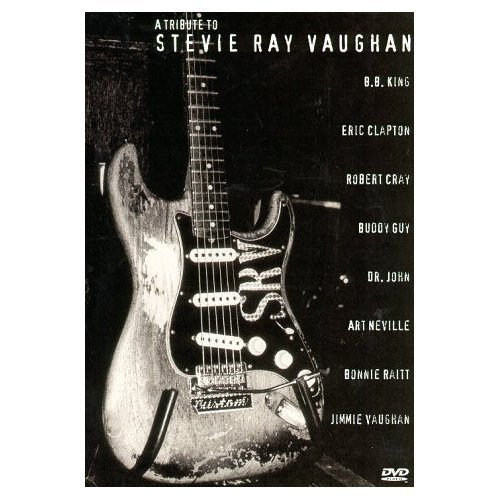 A Tribute To Stevie Ray Vaughan on DVD