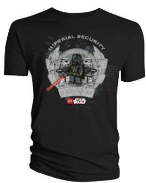 Lego Star Wars Imperial Security T-Shirt (Large)