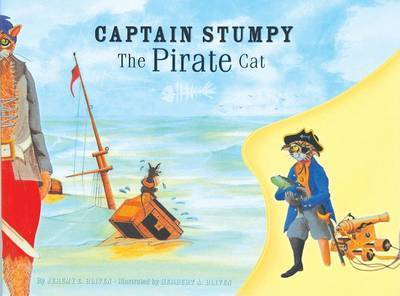 Captain Stumpy the Pirate Cat by Jeremy Bliven