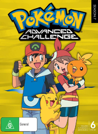 Pokemon - Season 7: Advanced Challenge on DVD