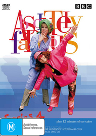 Absolutely Fabulous Series 4 on DVD image