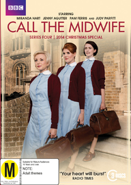 Call The Midwife - Season 4 on DVD image