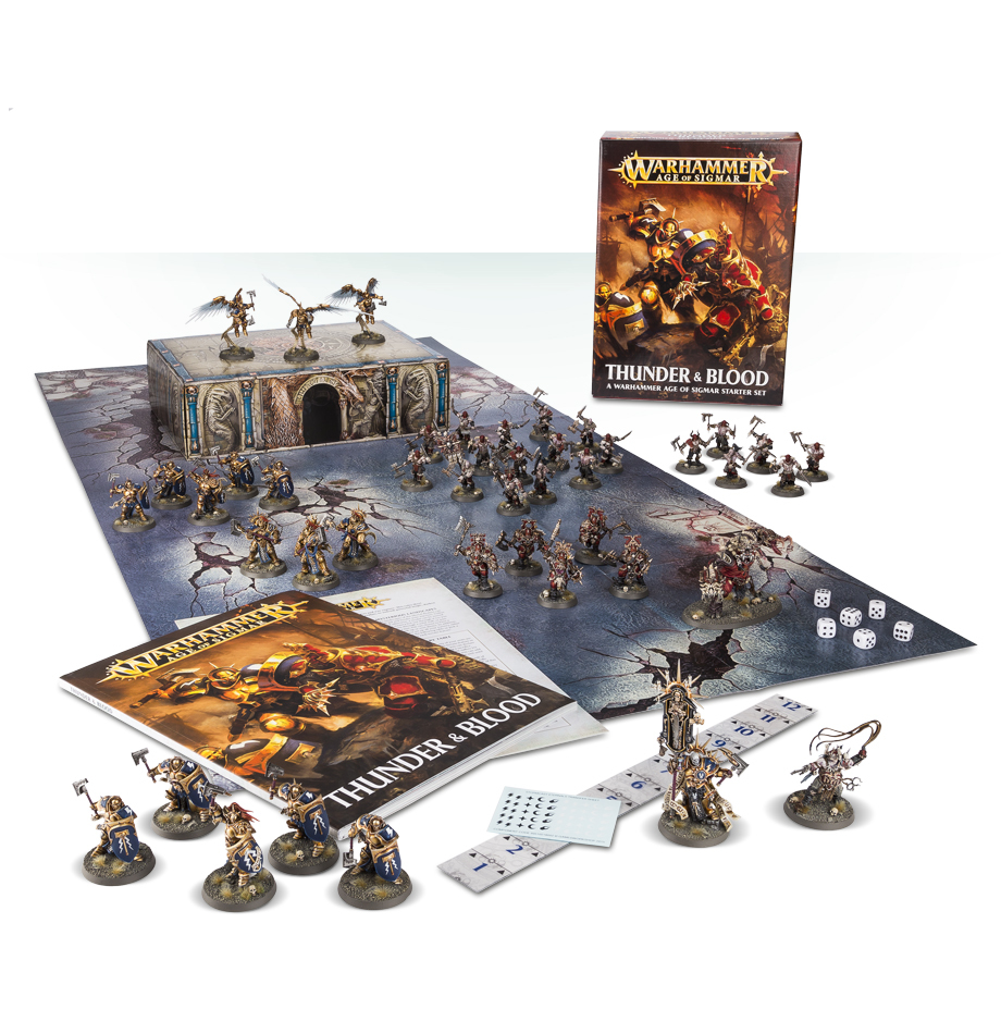 Warhammer Age of Sigmar: Thunder & Blood image