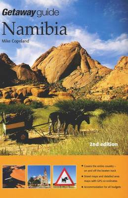 Getaway Guide to Namibia by Mike Copeland image