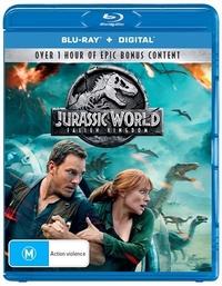 Jurassic World: Fallen Kingdom on Blu-ray, DC image