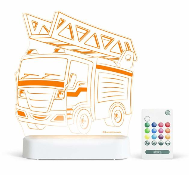 Aloka: Night Light - Fire Engine