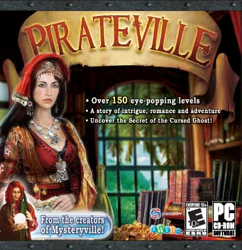 Pirateville (Jewel Case packaging) for PC Games image