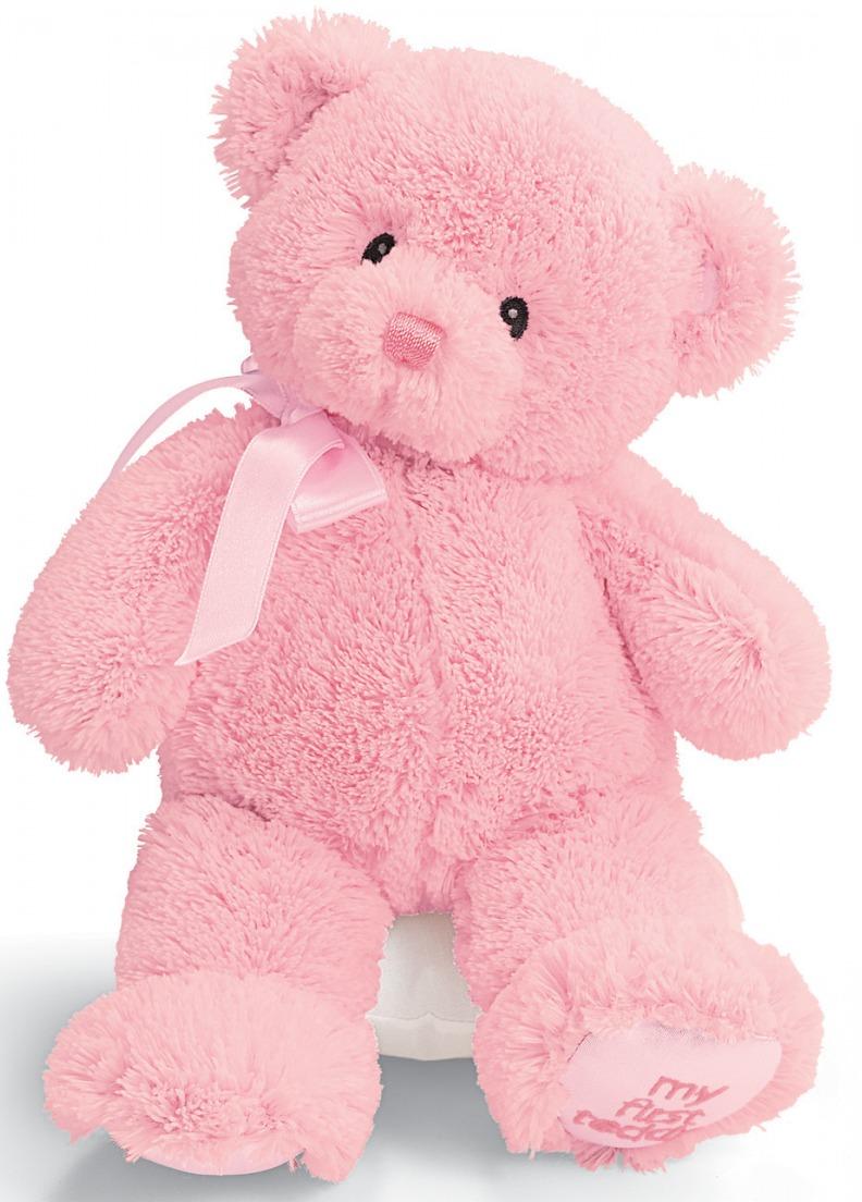 """Gund: My First Teddy 10"""" - Pink image"""
