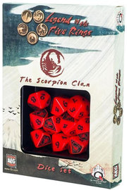 Legend of the 5 Rings Dice Set - Scorpion Clan