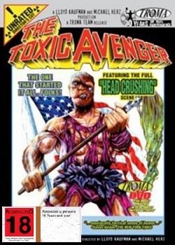 The Toxic Avenger on DVD