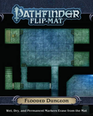 Pathfinder Flip-Mat: Flooded Dungeon by Jason A Engle