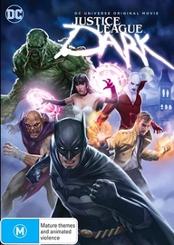 Justice League: Dark on DVD
