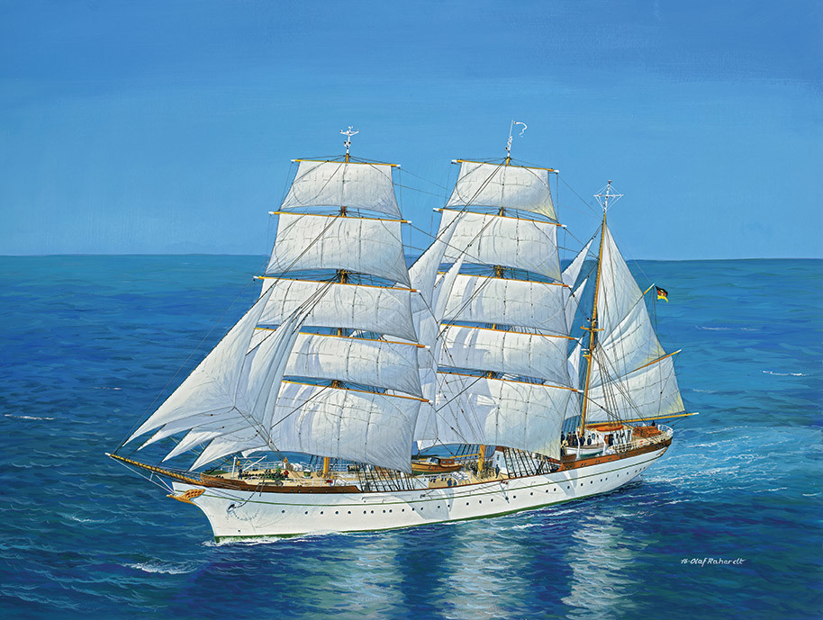 revell 1 150 gorch fock plastic model kit at mighty ape australia. Black Bedroom Furniture Sets. Home Design Ideas