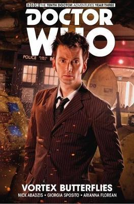 Doctor Who - The Tenth Doctor: Facing Fate Volume 2: Vortex Butterflies by Nick Abadzis