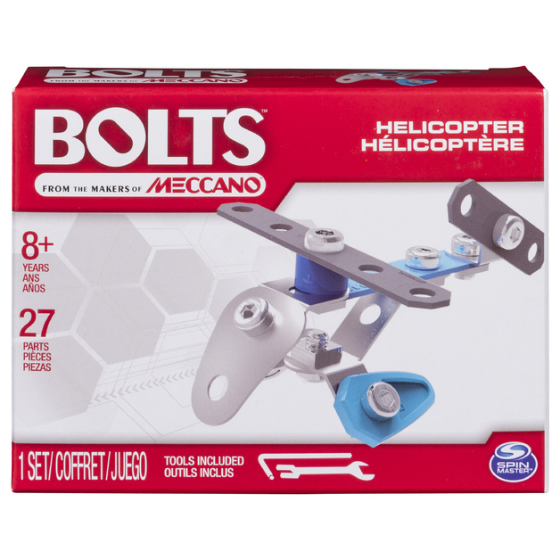 Meccano: Bolts Mini Vehicles - Helicopter