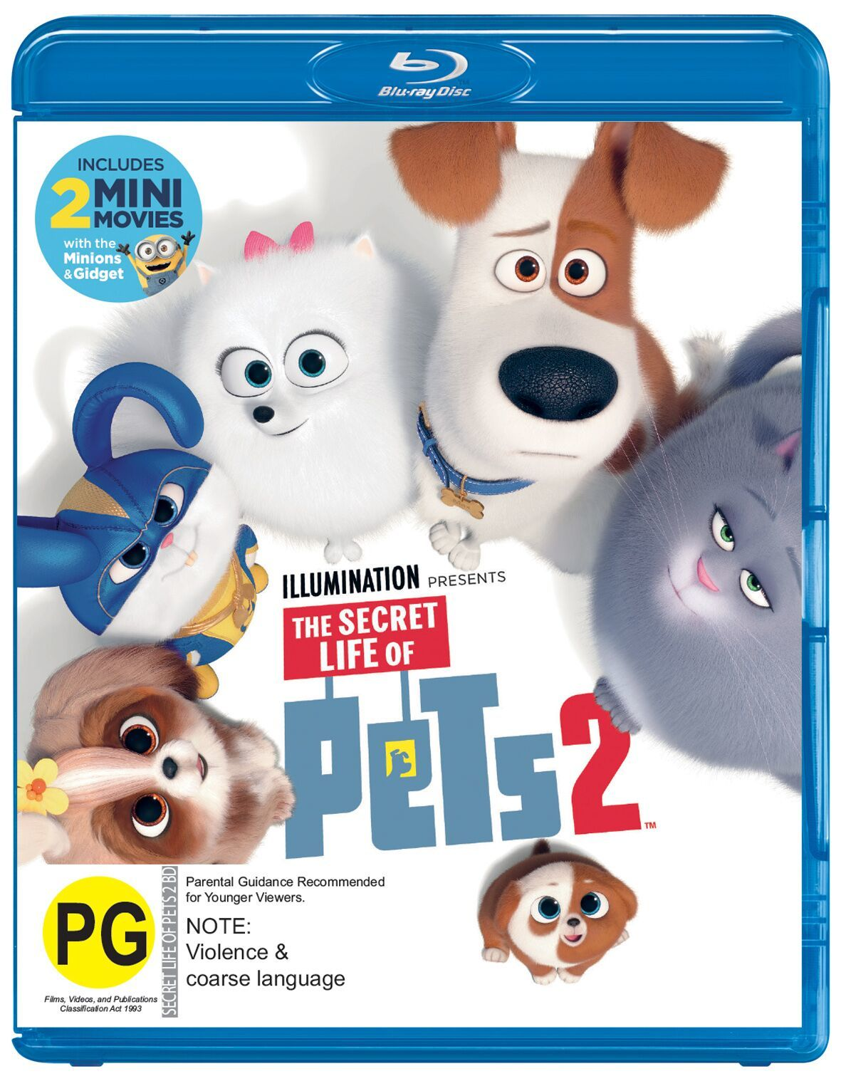 The Secret Life of Pets 2 on Blu-ray image