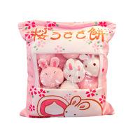 "Gorilla: Creative Snacks Pink Bunnies Plush (18"")"