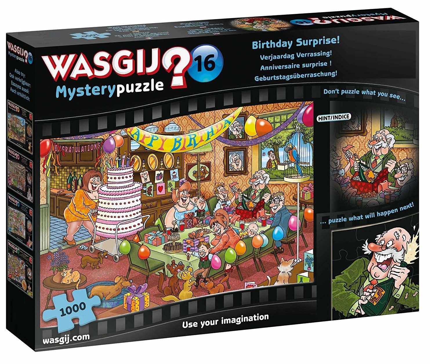 Wasgij: 1000 Piece Puzzle - Mystery #16 (Birthday Surprise) image