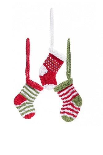 Pebble: Crochet Mini Stockings - Various