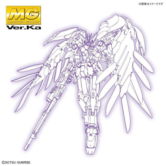 MG 1/100 Wing Gundam Zero EW (Ver. Ka) - Model Kit