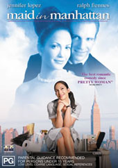 Maid In Manhattan on DVD
