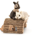 Schleich: Baby Rabbits Playing