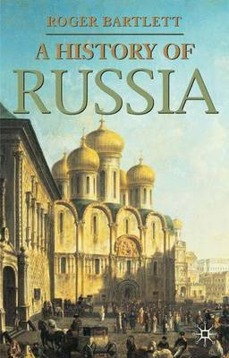 A History of Russia by Roger Bartlett image