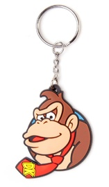 Nintendo: Donkey Kong Rubber Keychain (6cm)