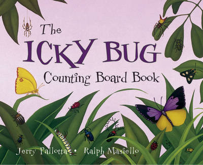 The Icky Bug Counting Book by Jerry Pallotta image