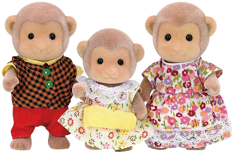 Sylvanian Families: Monkey Family image