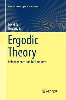 Ergodic Theory by David Kerr