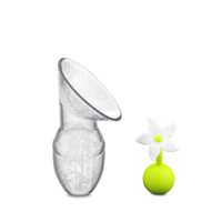 Haakaa: Silicone Breast Pump & Flower Stopper Gift Box Set (90ml)