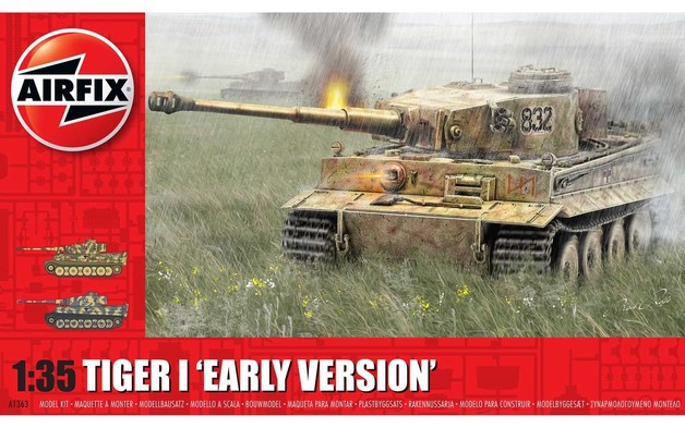 Airfix: 1:35 Tiger I 'Early Version'