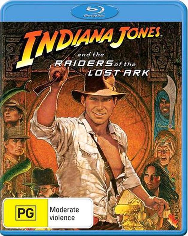 Indiana Jones And The Raiders Of The Lost Ark on Blu-ray