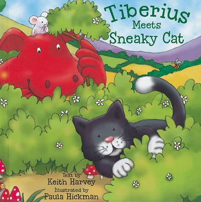 Tiberius Meets Sneaky Cat by Keith Harvey