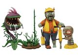 "Plants vs Zombies Engineer Zombie vs. Chomper 5"" Action Figure Set"
