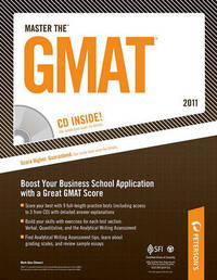 Master the GMAT (W/CD) 2011 by Mark Alan Stewart, J.D. image