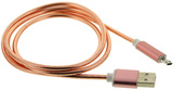 TouchLight Charge: 1m USB Charging Cable - Micro USB (Pink)