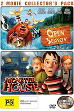 Open Season / Monster House - 2 Movie Collector's Pack (2 Disc Set) on DVD