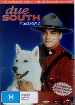 Due South - Season 2 (6 Disc Set) on DVD