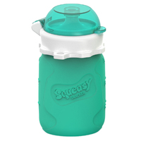 Squeasy Gear Snacker - Aqua Blue (104ml)