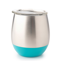 Stainless Steel Insulated Glass - Turquoise (240ml)