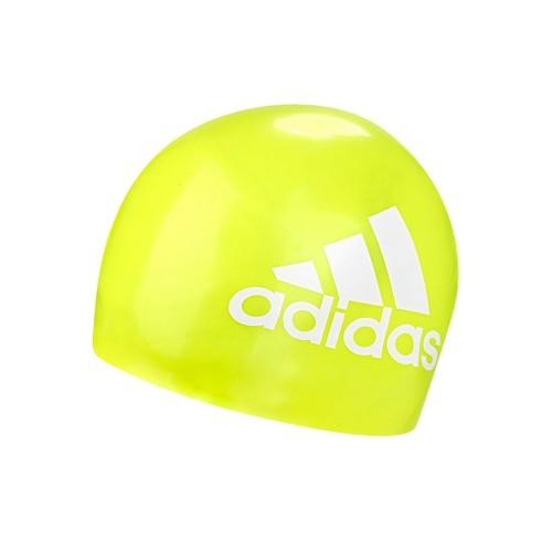 Adidas Swimcap Graphic Logo Yellow/White