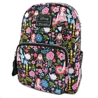 Loungefly: Beauty and the Beast - Print Mini Backpack
