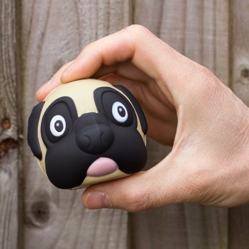 Thumbs Up!: Pug Stress Ball
