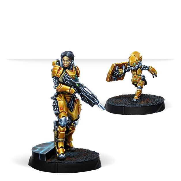Infinity: Tai Sheng, Zúyŏng Invincibles NCO (Breaker Rifle)