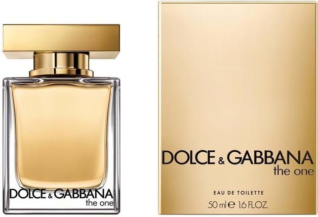 Dolce & Gabbana: The One Eau De Toilette Perfume (50ml EDT)